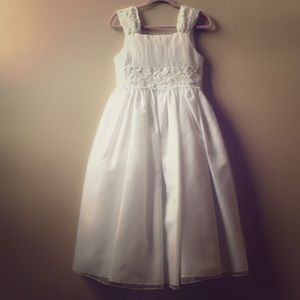 Girls' First Holy Communion Dress, size 7